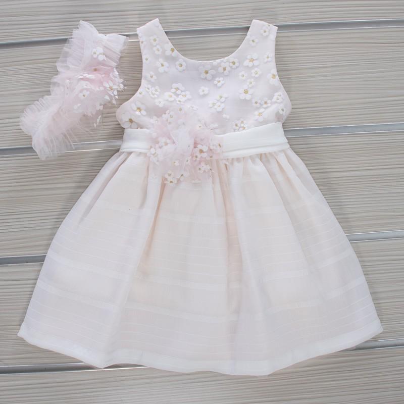Φόρεμα Βάπτισης 21MT841 Makis Tselios Baby (12-24 Μηνών)