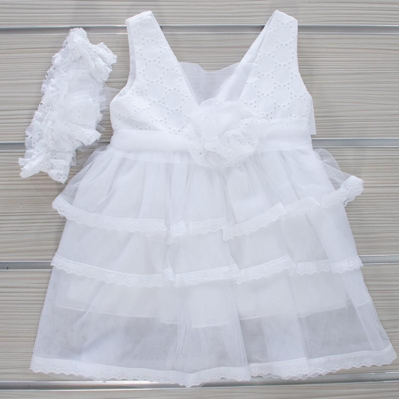 Φόρεμα Βάπτισης 21MT831 Makis Tselios Baby (12-24 Μηνών)