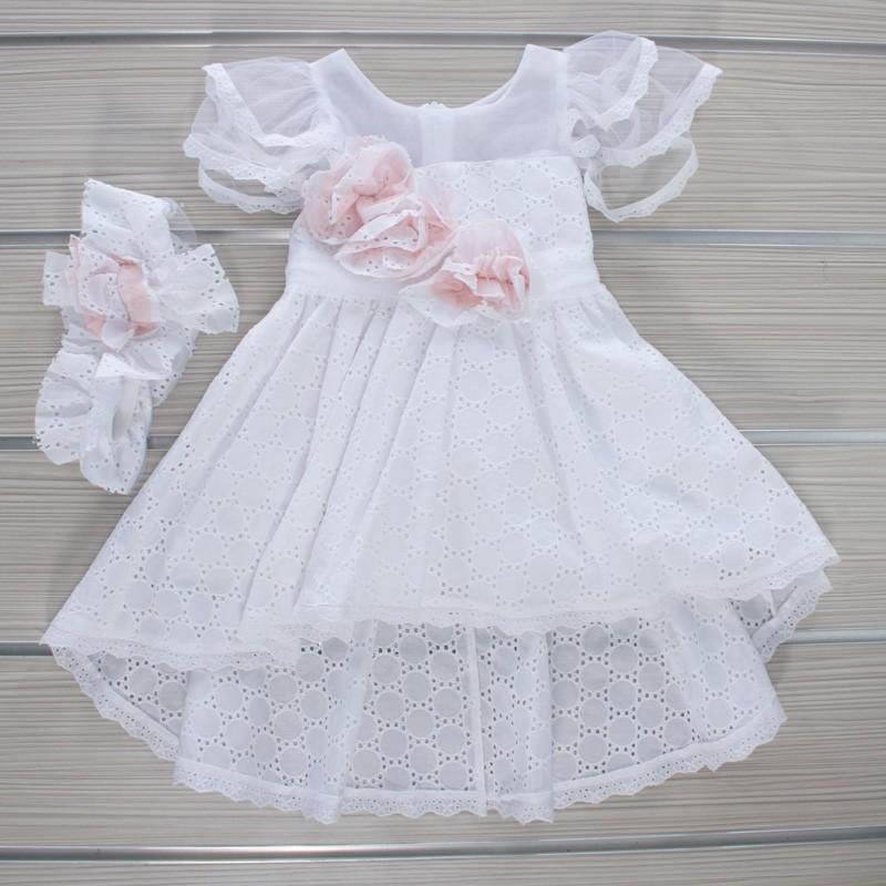Φόρεμα Βάπτισης 21MT846 Makis Tselios Baby (12-24 Μηνών)