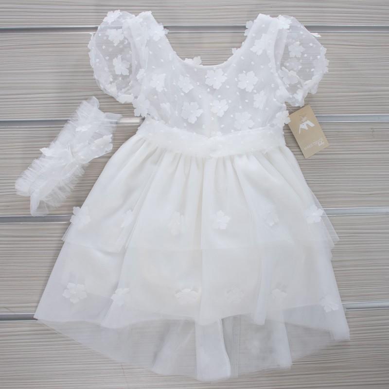 Φόρεμα Βάπτισης 21MT17 Makis Tselios Baby (12-24 Μηνών)