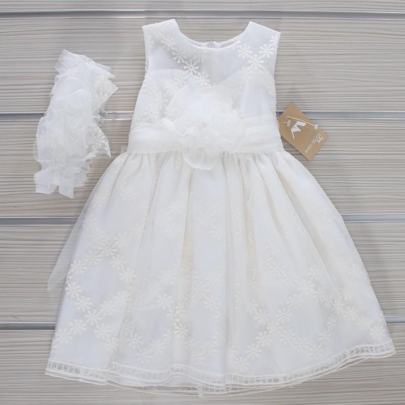 Φόρεμα Βάπτισης 21MT31 Makis Tselios Baby (12-24 Μηνών)