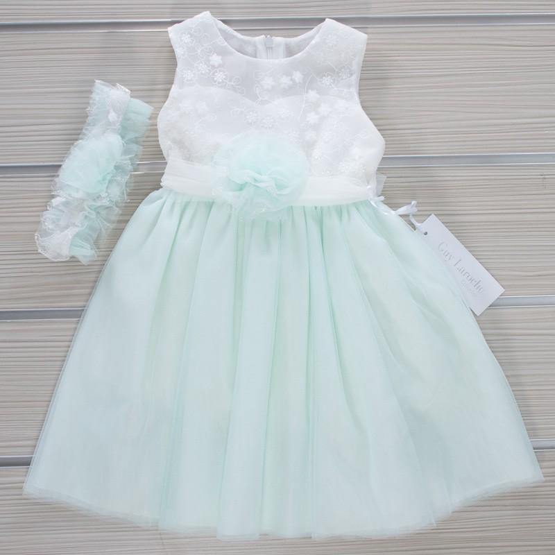 Φόρεμα Βάπτισης GL27 Guy Laroche (12-24 Μηνών)