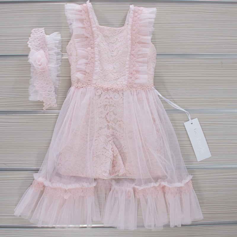 Φόρεμα Βάπτισης GL30 Guy Laroche (12-24 Μηνών)