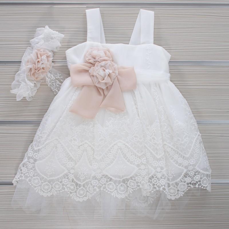 Φόρεμα Βάπτισης 21MT844 Makis Tselios Baby (12-24 Μηνών)