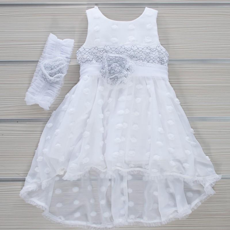 Φόρεμα Βάπτισης 21MT853 Makis Tselios Baby (12-24 Μηνών)