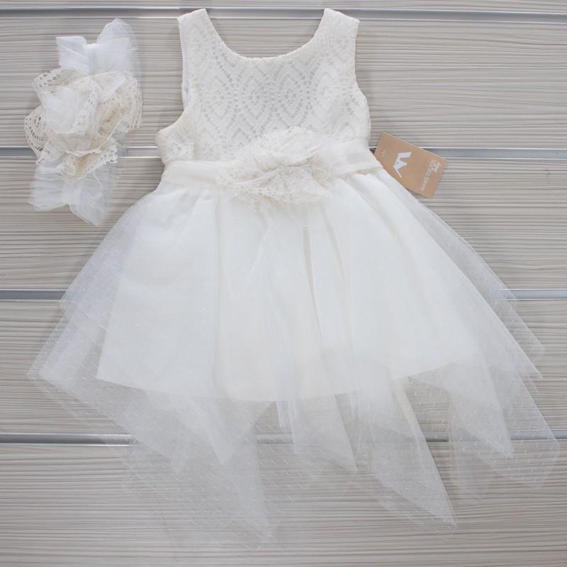 Φόρεμα Βάπτισης 21MT832 Makis Tselios Baby (12-24 Μηνών)