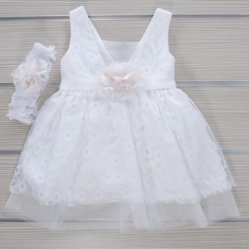Φόρεμα Βάπτισης 21MT830 Makis Tselios Baby (12-24 Μηνών)
