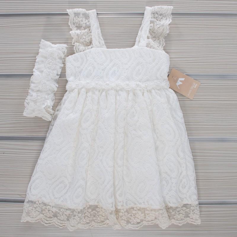 Φόρεμα Βάπτισης 21MT837 Makis Tselios Baby (12-24 Μηνών)
