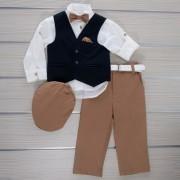 Κοστούμι Βάπτισης 21MT331 Makis Tselios Baby (12-24 Μηνών)_0
