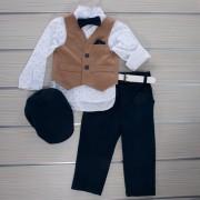 Κοστούμι Βάπτισης 21MT330 Makis Tselios Baby (12-24 Μηνών)_0