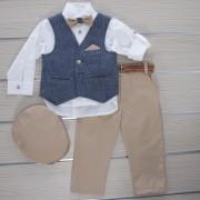 Κοστούμι Βάπτισης 21MT322 Makis Tselios Baby (12-24 Μηνών)_0