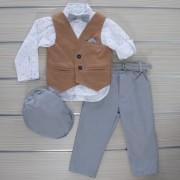 Κοστούμι Βάπτισης 21MT325 Makis Tselios Baby (12-24 Μηνών)_0
