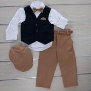 Κοστούμι Βάπτισης 21MT320 Makis Tselios Baby (12-24 Μηνών)_0