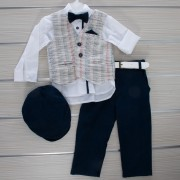 Κοστούμι Βάπτισης 21MT324 Makis Tselios Baby (12-24 Μηνών)_0