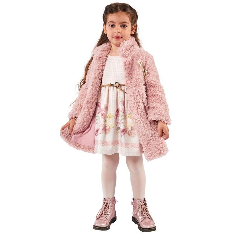 Φόρεμα με παλτό 215242 Εβίτα