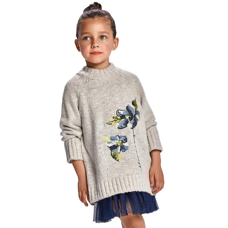 Σετ μπλούζα & φόρεμα Mayoral 11-04931-030