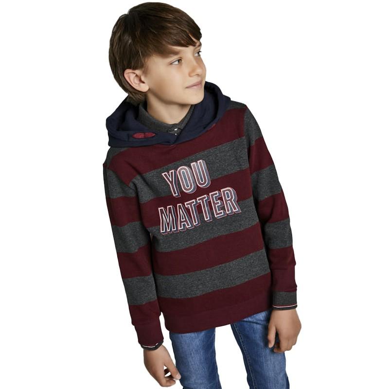 Μπλούζα φούτερ Mayoral 7407 αγόρι (8-18 Ετών)
