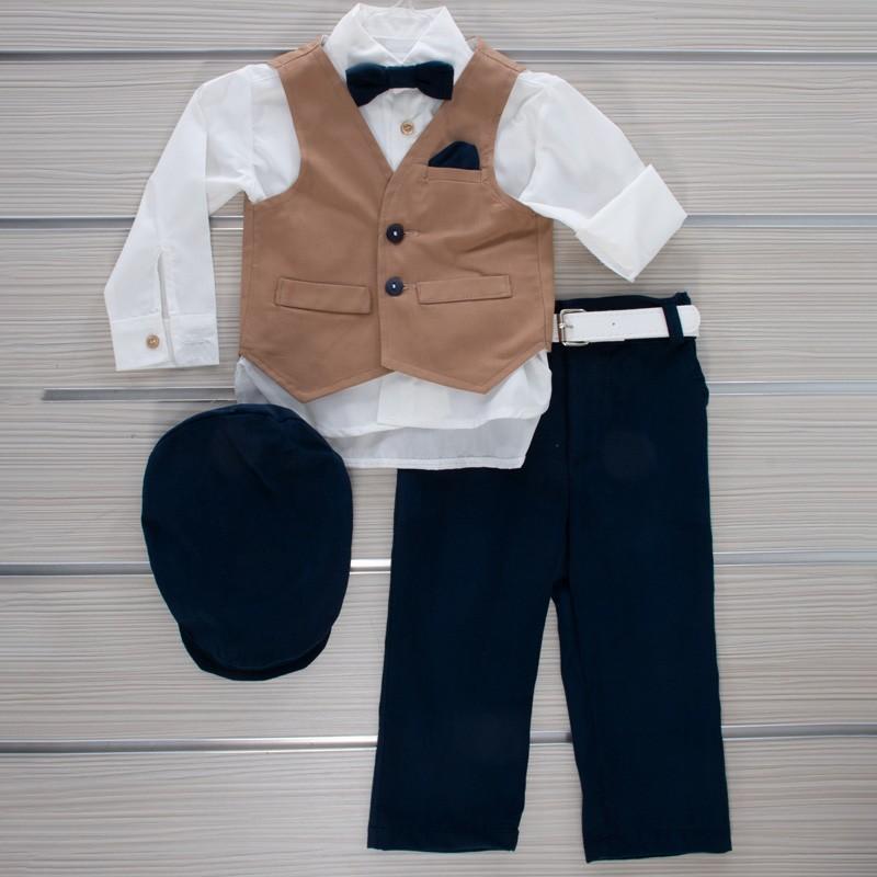 Κοστούμι Βάπτισης 21MT328 Makis Tselios Baby (12-24 Μηνών)
