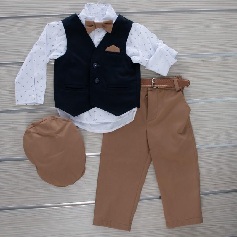 Κοστούμι Βάπτισης 21MT320 Makis Tselios Baby (12-24 Μηνών)