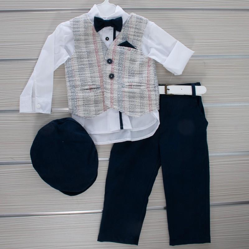 Κοστούμι Βάπτισης 21MT324 Makis Tselios Baby (12-24 Μηνών)