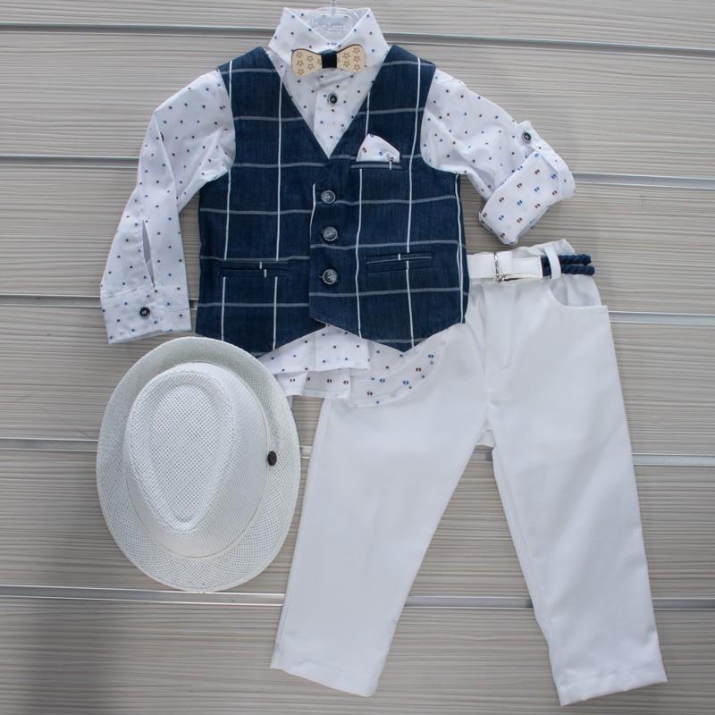 Κοστούμι Βάπτισης 21MT323 Makis Tselios Baby (12-24 Μηνών)
