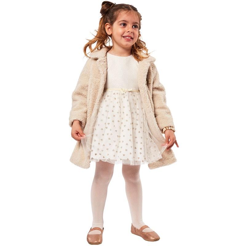 Φόρεμα με παλτό 215241 Εβίτα